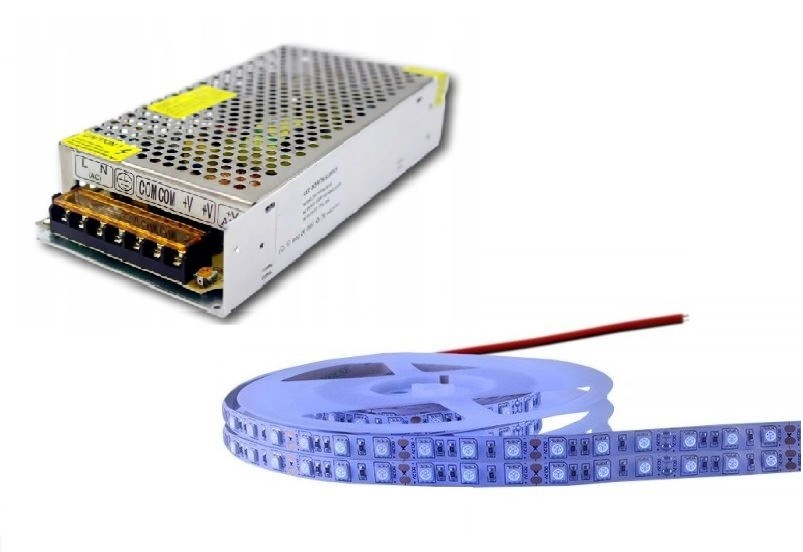 Taśma LED 5050 300 SMD UV-A 395 390nm PREMIUM 0.5m